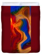 Colorful Compromises II Duvet Cover