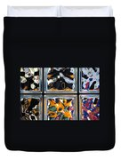 Colorful Contortion Duvet Cover