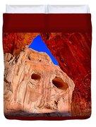 Colorful Corona Rocks Duvet Cover
