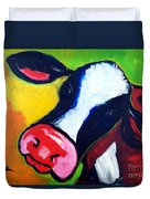 Colorful Cow Duvet Cover