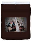 Colorful Crash Duvet Cover