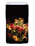 Colorful Cut Flowers - V3 Duvet Cover