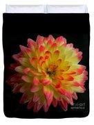 Colorful Dahlia Duvet Cover