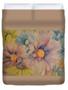 Colorful Daisies Duvet Cover