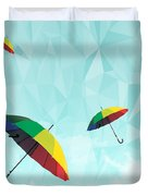 Colorful Day Duvet Cover by Mark Ashkenazi