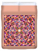 Colorful Digital Abstract Duvet Cover