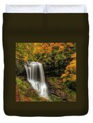 Colorful Dry Falls Duvet Cover