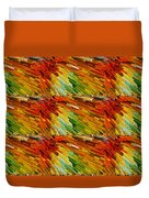 Colorful Extrude 2 Duvet Cover