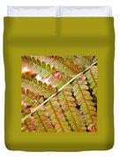Colorful Fern Square Duvet Cover