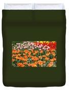 Colorful Flower Bed Duvet Cover