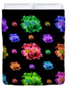 Colorful Flowers Duvet Duvet Cover