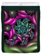 Colorful Fractal Duvet Cover