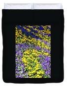 Colorful Garden Duvet Cover