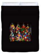 Colorful Gumballs Duvet Cover