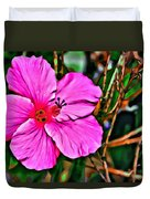 Colorful Hibiscus Duvet Cover