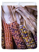 Colorful Indian Corn Duvet Cover
