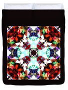 Colorful Kaleidoscope Creation Duvet Cover