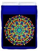 Colorful Kolide  Duvet Cover