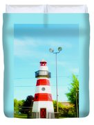 Colorful Lighthouse 2 Duvet Cover