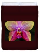 Colorful Orchid Duvet Cover