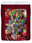 Colorful Ornaments Duvet Cover