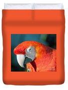 Colorful Parrot Duvet Cover