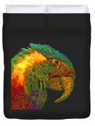 Colorful Parrot Duvet Cover