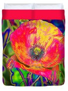 Colorful Poppy Duvet Cover