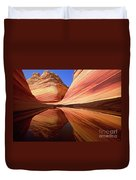 Colorful Sandstone Colorado Duvet Cover by Yva Momatiuk John Eastcott