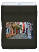 Colorful Schnoor Duvet Cover