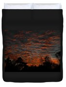 Colorful Sky Number 7 Duvet Cover