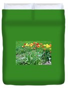 Colorful Spring Duvet Cover
