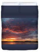 Colorful Sunset, Snaefellsnes Duvet Cover