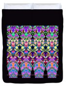 Colorful Symmetrical Abstract Duvet Cover