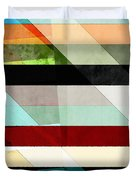 Colorful Textured Abstract Duvet Cover