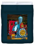 Colorful Train Duvet Cover