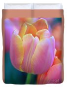 Colorful Tulip Duvet Cover by Kathleen Struckle