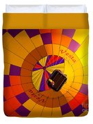 Colorful Underbelly Duvet Cover
