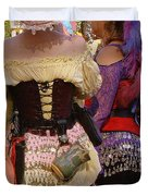 Colorful Wenches Duvet Cover