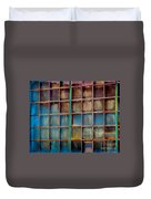Colorful Windows  Duvet Cover