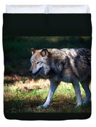 Colorful Wolf Duvet Cover