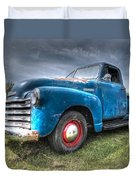 Colorful Workhorse - 1953 Chevy Truck Duvet Cover