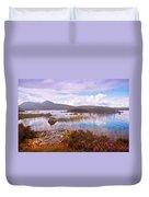 Colorful World Of Rannoch Moor. Scotland Duvet Cover