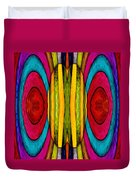 Colorful World Duvet Cover