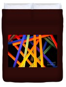 Coloring Between The Lines Duvet Cover