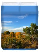Colors Along The Colorado Duvet Cover