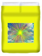 Colors In The Sky Duvet Cover