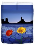 Colors In The Valley Duvet Cover