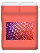 Colors Of Epcot Duvet Cover