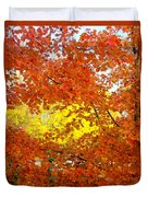 Colors Of Fall 2 Duvet Cover